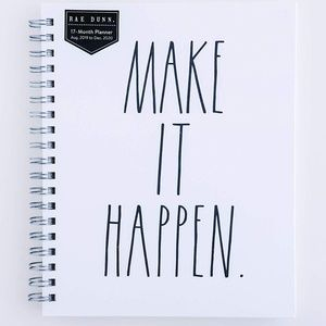 Make it Happen 2019/2020 Planner Rae Dunn